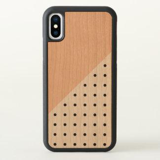 Orannge Geometric Pattern iPhone X Case