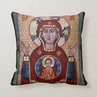 Oranta icon pillow - Orthodox Christian gift