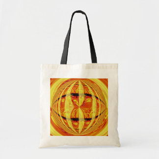 Orb Gold budget tote bag