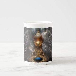 Orb Of Light Fractal Art Bone China Mug