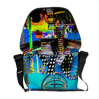 Orb Ride Carnival Fair Art Photo Designer Purse Commuter Bags