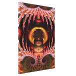 Orb Spirit Tree Fractal Art Fantasy Wrapped Canvas Gallery Wrapped Canvas