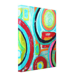 Orbit 16 x 20 Wrapped Canvas