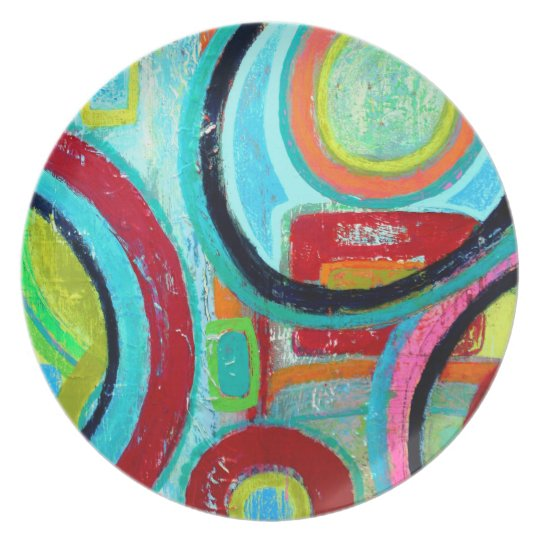 Orbit Melamine Plate