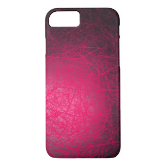 Orbital Cubes Pink - Apple iPhone Case
