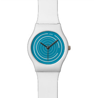 ORBITS | white circles Watch