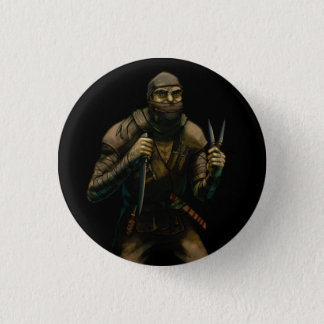 Orc Assassin 1 Inch Round Button