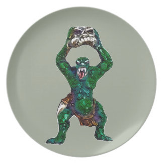 Orc Dinner Plate