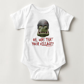 Orc: Was That Your Village? Baby Bodysuit