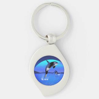 Orca 1 keychain