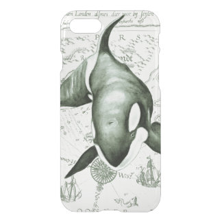 Orca Ancient Green iPhone 7 Case