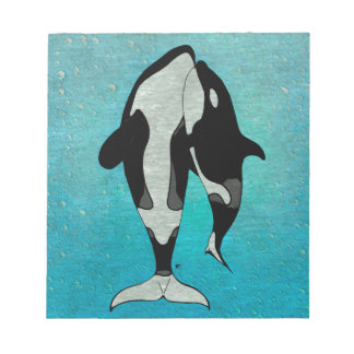Orca Blue Notepads
