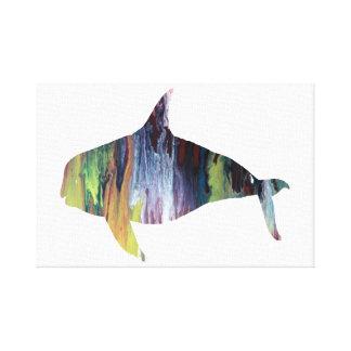 Orca Canvas Print