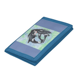 Orca Dancing with a Mermaid Fairy Wallet