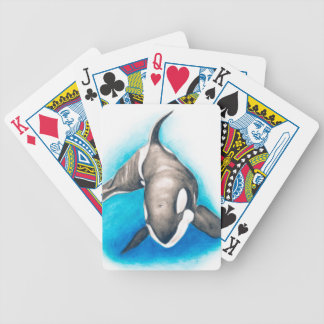Orca Deep Dive Bicycle Playing Cards