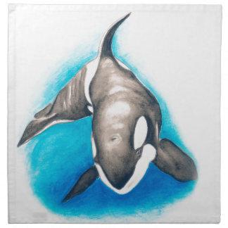 Orca Deep Dive Napkin
