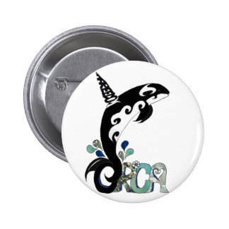 Orca Freedom Art Buttons
