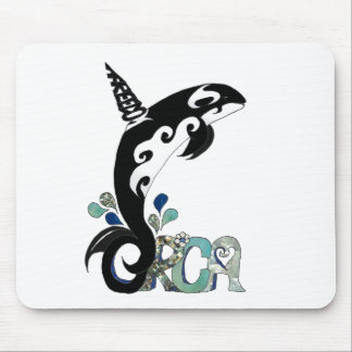Orca Freedom Art Mouse Pads