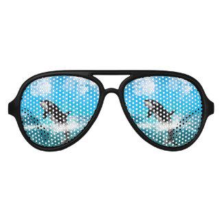 Orca jumping sunglasses