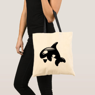 Orca Killer Whale Tote Bag