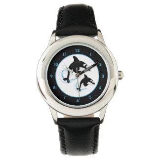 Orca Killer Whale Wrist Watch