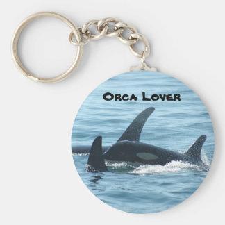 Orca Lover Keychain
