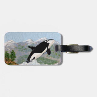 Orca Luggage Tags