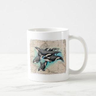 Orca Map Atlas Coffee Mug