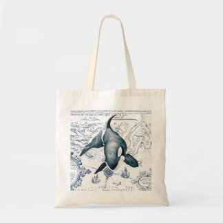 Orca Map Blue