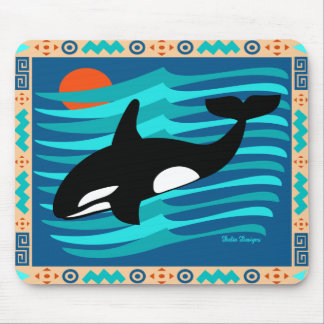Orca Mouse Pad