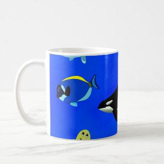 Orca ocean coffee mug