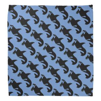 Orca Pattern Bandana