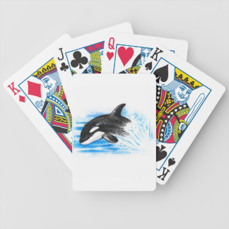 Orca Playing Bicycle Playing Cards
