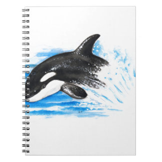 Orca Playing Note Book