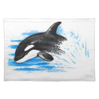 Orca Playing Placemat