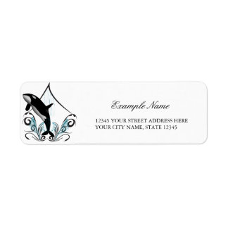 Orca Return Address Label