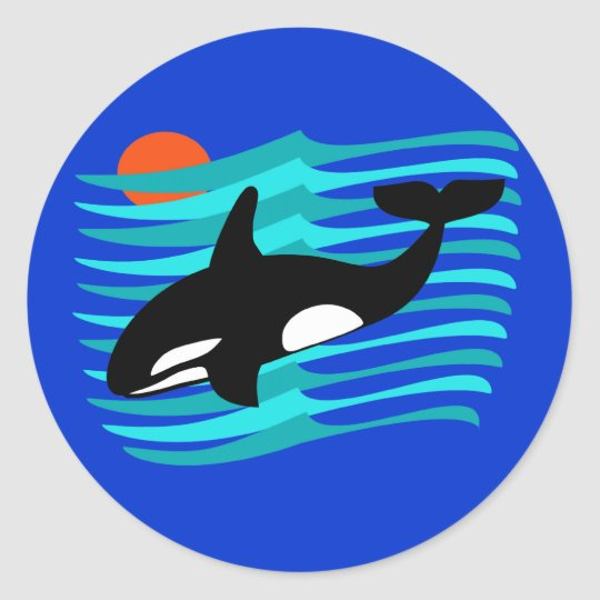 Orca Stickers