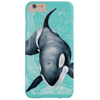 Orca Teal White Barely There iPhone 6 Plus Case