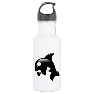 Orca Whale 532 Ml Water Bottle