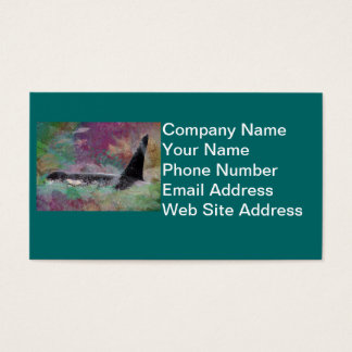 Orca Whale Fantasy Dream - I Love Whales Business Card