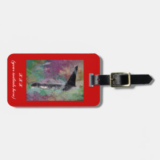 Orca Whale Fantasy Dream - I Love Whales Luggage Tag
