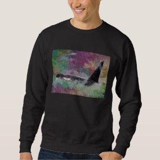 Orca Whale Fantasy Dream - I Love Whales Sweatshirt