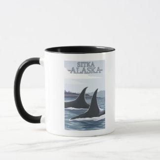 Orca Whales #1 - Sitka, Alaska Mug