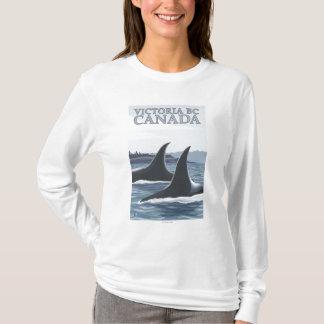 Orca Whales #1 - Victoria, BC Canada T-Shirt