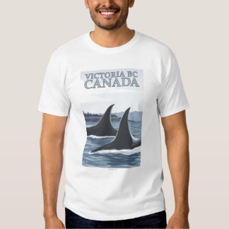 Orca Whales #1 - Victoria, BC Canada T Shirts