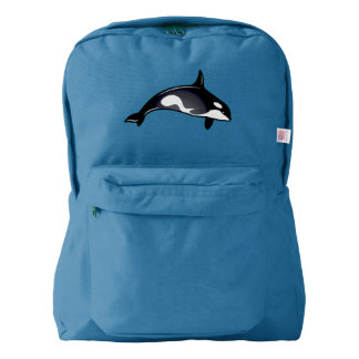 Orca Whales Backpack