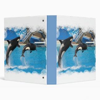 Orca Whales Binder