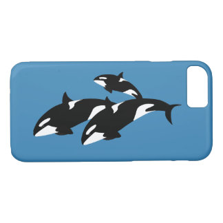 Orcas Apple iPhone 7, Barely There Phone Case