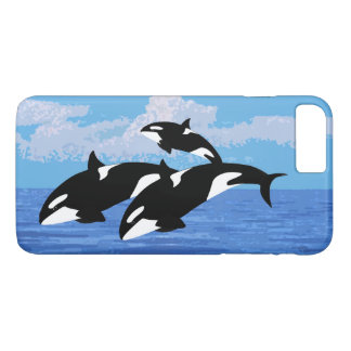 Orcas Apple iPhone 7 Plus, Barely There Phone Case