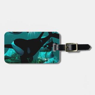 Orcas Bag Tag